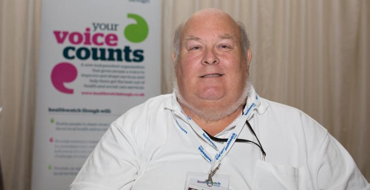Colin Pil Healthwatch Slough Chair 2016-2021
