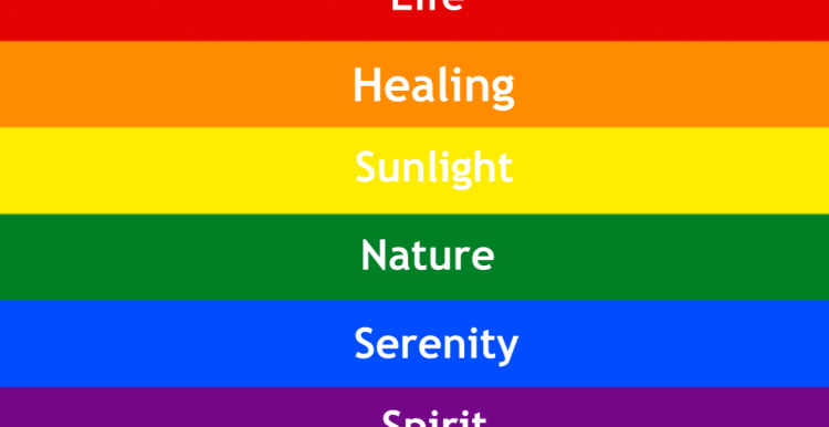 representation rainbow pride flag