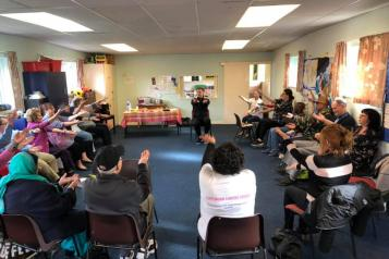 Cippenham Carers group seated activity