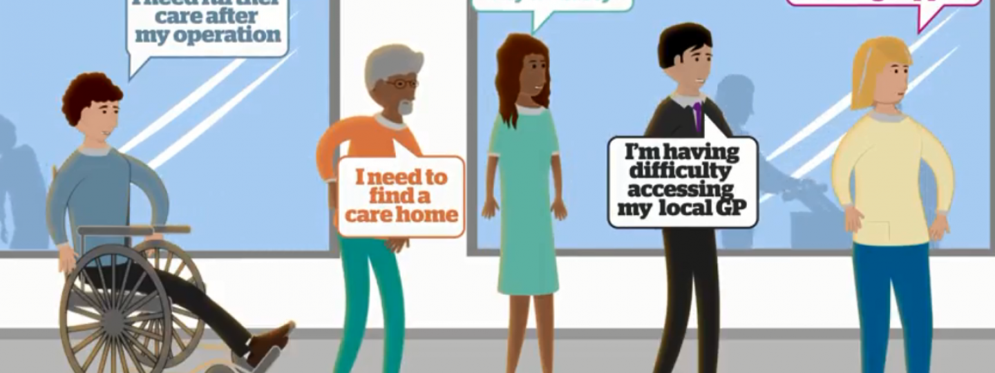 Video explaining how your Healthwatch can help with advice and information