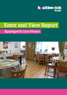 Front page of Enter & View Oxford House Report